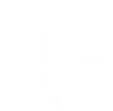 Mini Bar Gold Logo white 150